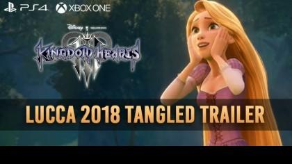Kingdom Hearts 3 – Новый трейлер посвящён королевству Корона из мультфильма «Рапунцель: Запутанная история»