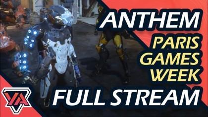 Геймплей - Anthem – Новый ролик с игровым процессом (Новый геймплей с выставки «Paris Games Week»)