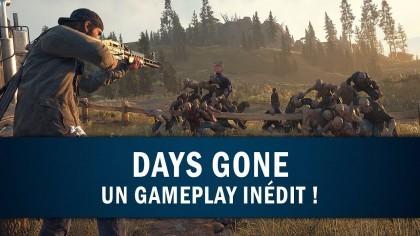 Days Gone – 10 минут игрового процесса (Новый геймплей с выставки «Paris Games Week»)