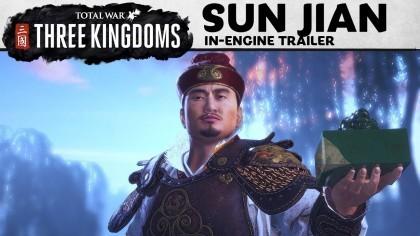 Total War: Three Kingdoms – Новый трейлер полководца эпохи Троецарствия – Сунь Цзяню