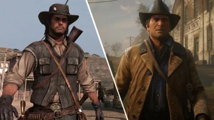 Red Dead Redemption 2 – Визуальное отличие первой части от второй