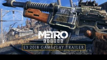 Metro: Exodus – Геймплейный трейлер (E3 2018) [RU]
