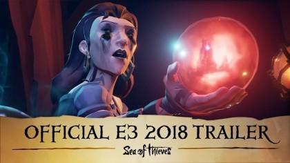 Sea of Thieves – Трейлер дополнения «Cursed Sails» и «Forsaken Shores» (Е3 2018)