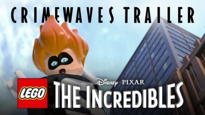 LEGO The Incredibles – Новый официальный трейлер «Волны преступности»