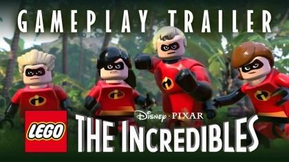 LEGO The Incredibles – Трейлер с игровым процессом