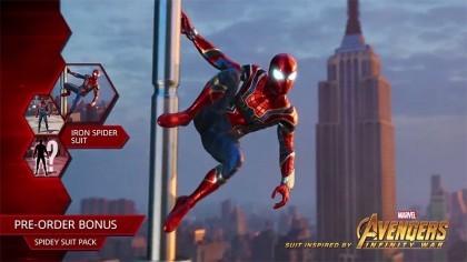Железный паук появится в Человеке-пауке для PS4