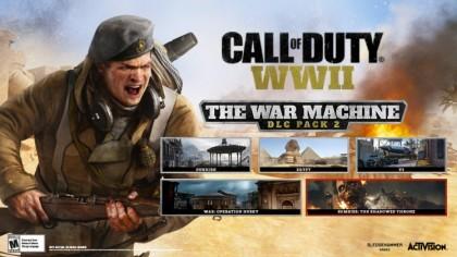 Call of Duty: WWII – Трейлер второго набора из дополнения «War Machine»