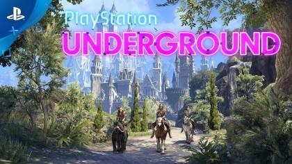 The Elder Scrolls Online: Summerset –  Игровой процесс на PS4 (Геймплей)