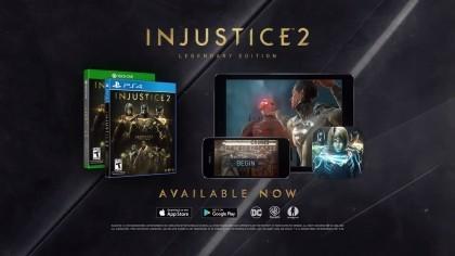 Injustice 2 – Релизный трейлер «Легендарного издания»