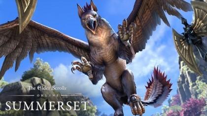 The Elder Scrolls Online – Трейлер игрового процесса нового дополнения «Summerset» [RU]