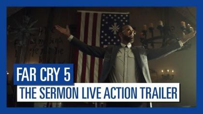 Far Cry 5 – Кинематографический трейлер «Проповедь» [RU]