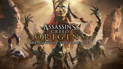 Assassin's Creed: Origins – Трейлер в честь выхода второго дополнения «Проклятие фараонов» [RU]