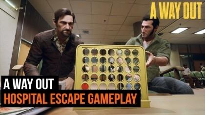 Геймплей - A Way Out – Побег из госпиталя (Игровой процесс)