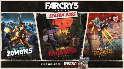 Far Cry 5 – Трейлер контента дополнений и Season Pass