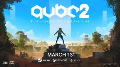 Q.U.B.E. 2 – Релизный трейлер