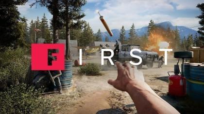 Far Cry 5 – Прохождение миссии на вертолёте (Геймплей)