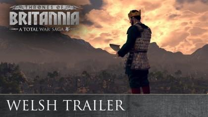 Total War Saga: Thrones of Britannia – Кинематографический трейлер «Уэльс»