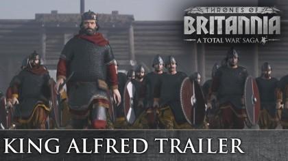 Total War: Thrones of Britannia – Новый трейлер под названием «Альфред Великий»