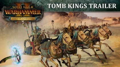 Total War: Warhammer 2 – Трейлер дополнения «Rise of the Tomb Kings»
