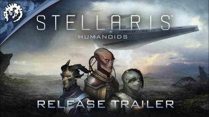 Stellaris – Релизный трейлер нового дополнения «Humanoids Species Pack»
