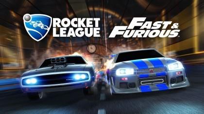 Rocket League – Трейлер грядущего нового дополнения «Fast & Furious»
