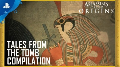 Assassin's Creed: Origins – Новый трейлер «Байки из гробницы»