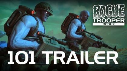 Rogue Trooper Redux – Трейлер с игровым процессом