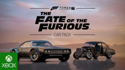 Forza Motorsport 7 – Трейлер нового комплект машин «The Fate of the Furious»