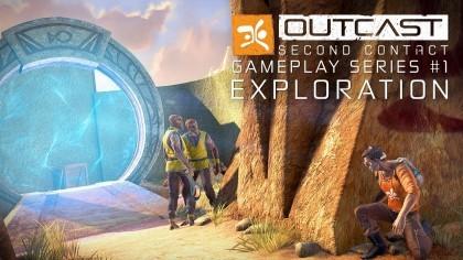 Outcast – Second Contact – Игровой процесс №1: «Исследование» (Геймплей)