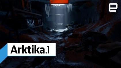 Геймплей - Arktika.1 – 25 минут игрового процесса (Геймплей)