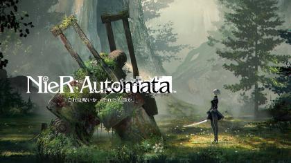 NieR: Automata – 5 минут игрового процесса