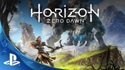 Horizon Zero Dawn – Демонстрация геймплея на PlayStation 4 Pro с 4К