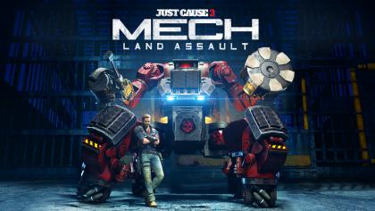 Just Cause 3 – Трейлер дополнения «Mech Land Assault»