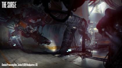 The Surge – Первый геймплей боевой системы
