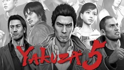 Yakuza 5 - Трейлер с выставки Gamescom 2015