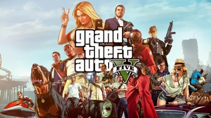 Grand Theft Auto V - Сравнение версии PS3 и PS4 (На русском)