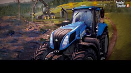 Farming Simulator 2015 - Дебютный трейлер