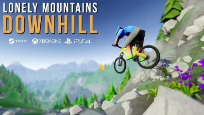 Lonely Mountains: Downhill - трейлер релиза