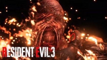 Resident Evil 3 Remake трейлер Немезида