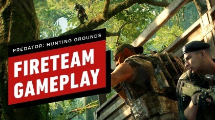 8 минут геймплея Predator: Hunting Grounds Fireteam