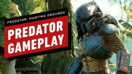 Геймплей - 9 минут геймплея Хищника Predator: Hunting Grounds