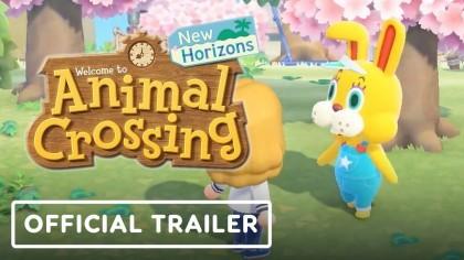Animal Crossing: New Horizons - трейлер события День кролика