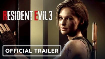 Resident Evil 3 - трейлер Джилл Валентайн
