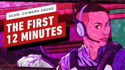 Первые 12 минут XCOM: Chimera Squad