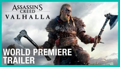 Трейлеры - Assassin's Creed Valhalla: трейлер премьеры игры