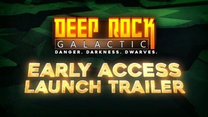 Трейлеры - Deep Rock Galactic - Трейлер к запуску