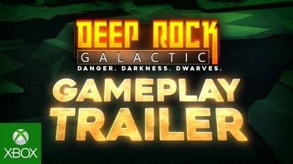 Геймплей - Deep Rock Galactic - Геймплейный трейлер