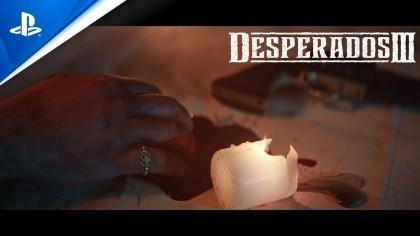 Трейлеры - Desperados III - Стартовый трейлер | PS4
