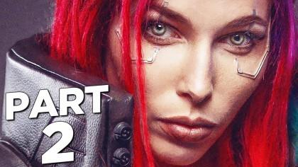 Видеопрохождения - Cyberpunk 2077 прохождение, часть 2 - ДЖЕКИ