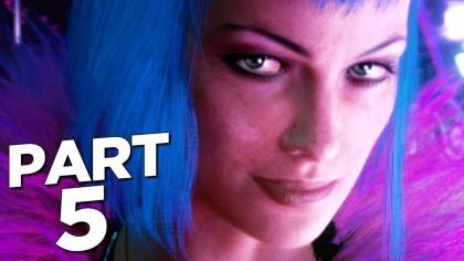 Видеопрохождения - Cyberpunk 2077 прохождение, часть 5 - ЭВЕЛИН